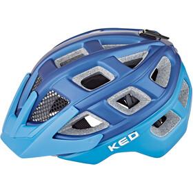 KED Kailu Fietshelm Kinderen, blue lightblue matt